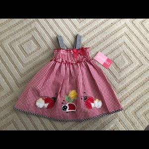 Other - 12m gingham baby dress😍